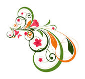 Abstract Decorative Flourish Design Art — Vector de stock