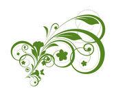 Natureza orgânica de fundo Floral — Vetor de Stock