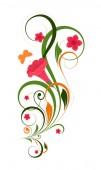 Colorful Decorative Floral — Cтоковый вектор