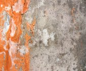 Painted Cemented Wall — Stock Photo