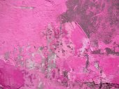 Pink Painted Grunge Wall Texture — Stockfoto