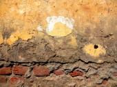 Decayed Bricks Wall — Stock Photo