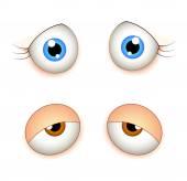 Female Eyes — Stock Vector