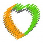 Scribble Heart Design — Stock Vector #60929851