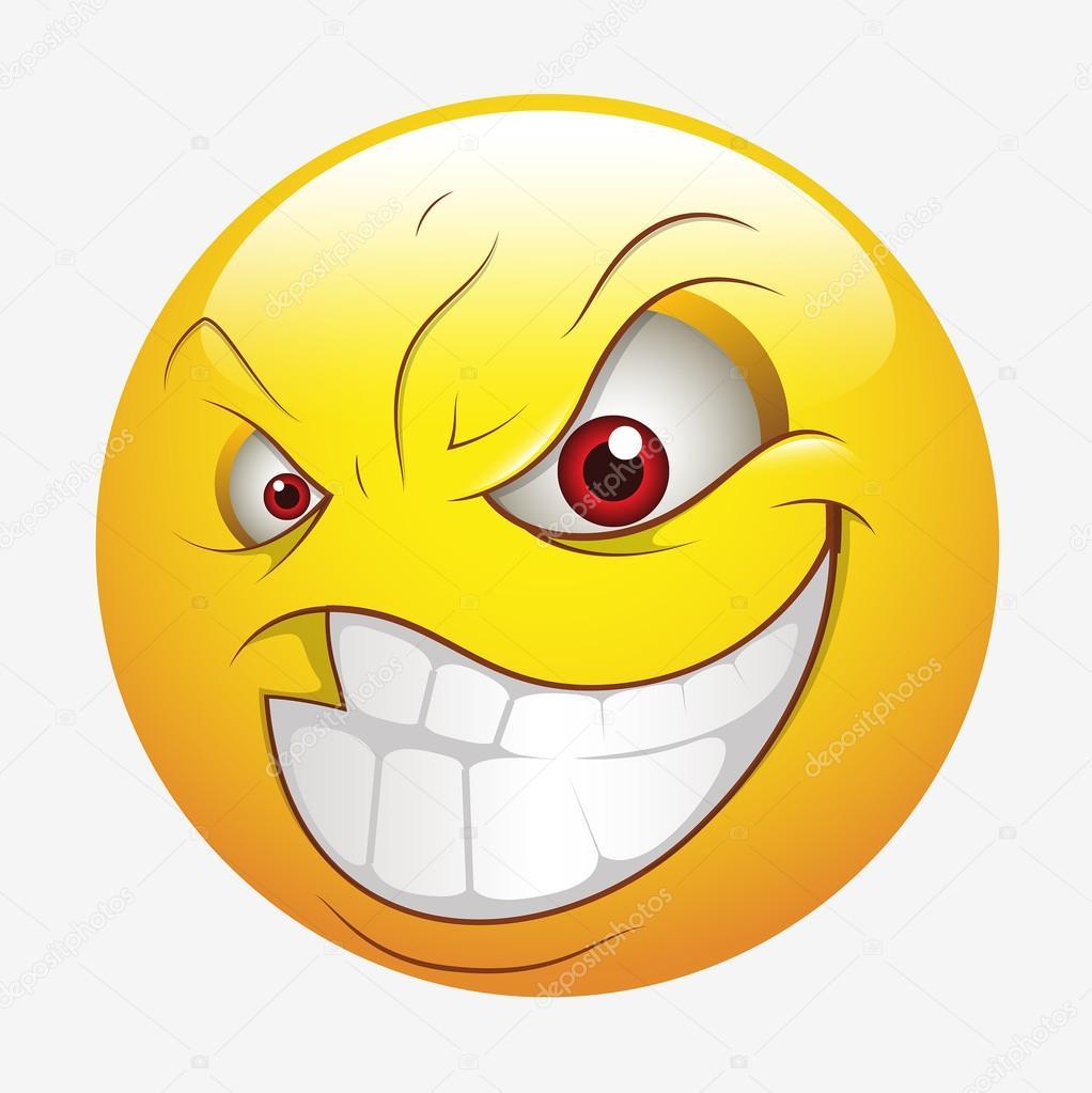 Depositphotos Stock Illustration Naughty Smiling Smiley Happy