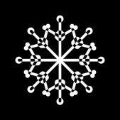 Vector Snowflake — Stock Vector
