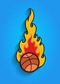 火の玉ベクター要素 — ストックベクタ