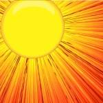 Bright Sunlight Background Vector — Stock Vector #61852191