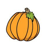 Retro Pumpkin Vector — Stock Vector