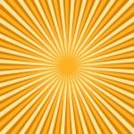 Vintage Striped Sunburst Design Art — Stock Vector #63378781