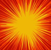 Abstract Vector Sunburst fond — Vecteur