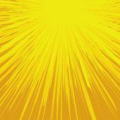 Abstract Vector Sunburst — Stock Vector