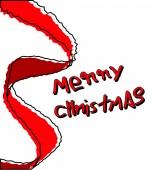 Retro Christmas Banner — Stock Vector