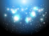 Christmas Sparkles Background — Stock Vector