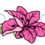 装饰花分频器矢量设计 — 图库矢量图片 #64337277