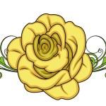 情人节玫瑰分频器 — 图库矢量图片 #64337293