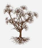 Dead Tree Design Vector — Stock Vector