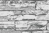 Abstract Rocks Bricks Wall Texture — Stock Vector