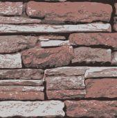Grunge Bricks Wall Texture Design — Stock Vector