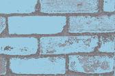 Vintage Colored Grunge Bricks Pattern — Stock Vector