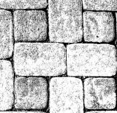 Bricks Texture Grunge Wall — Stock Vector