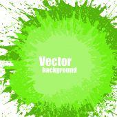 Dirty Texture Splash Banner — Stock Vector