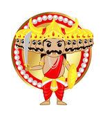 Ravan Sri Lankan God — Stock vektor