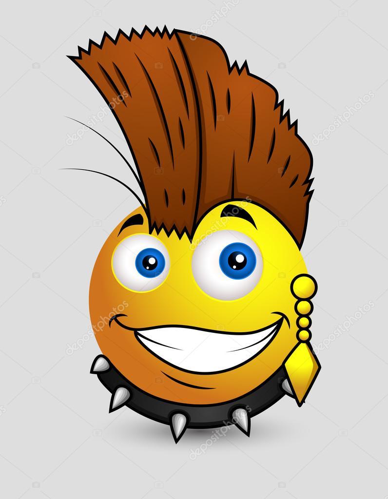 punk popster emoji smiley emoticon stockvector 98049686 devil clip art free download devil clipart for vinyl cutters