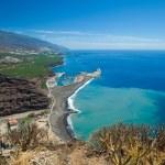 ������, ������: La Palma view from viewpoint Mirador el Time