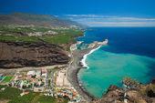 La Palma, view from viewpoint Mirador el Time — Stock Photo