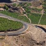 La Palma, view from viewpoint Mirador el Time — Stock Photo #52951499
