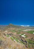 ラ ・ パルマ島、視点ミラドール el 時間からの眺め — ストック写真