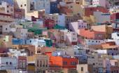 Las Plamas de Gran Canaria, Ciudad Alta — Foto Stock