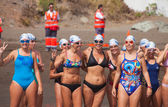 13 September 2014, Gran Canaria, sea swim — Foto de Stock