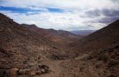 Inland Northern Fuerteventura, Canary Islands — Stock Photo