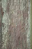 Old peeling paint over wooden panel — Stock Photo
