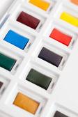 Brand new aquarelle set — Stock Photo