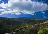 Inland Gran Canaria, view towards central mountains  — Stock Photo