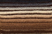 Macro knitting background — Stock Photo