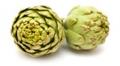 Artichoke isolated — Stock Photo