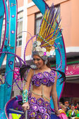 Las Palmas main carnival parade — Stock Photo