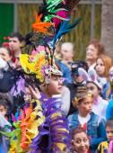 Las Palmas de Gran Canaria Children carnival  parade 2015 — Stok fotoğraf