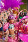 Las Palmas de Gran Canaria Children carnival  parade 2015 — Stock Photo