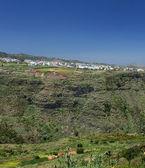Gran Canaria, inland nortern parts, Barranco de Azuaje — Stock Photo