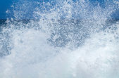 Ocean foam — Stock Photo