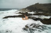 Gran Canaria, Banaderos área, piscinas — Fotografia Stock