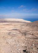 Fuerteventura, view north from Montana Roja — Stock Photo