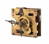 Старый механизм часов — Стоковое фото