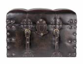 Chest of the lid closed on a white background — ストック写真