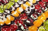 Torte miniatura delizioso catering dolci a buffet — Foto Stock